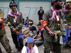 Explosion, gunfire ring out near Bangkok protest site