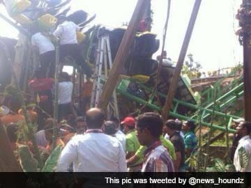 Roller coaster ride crashes at theme park near Mumbai, two injured