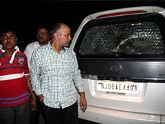 AAP leader Manish Sisodia's car allegedly attacked in Gujarat