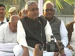 Another Chief Minister on dharna, this time Nitish Kumar in Patna for special status for Bihar
