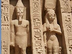 Two more colossal pharaoh statues unveiled in Egypt