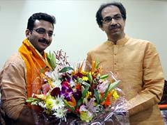 Reel-life Chhatrapati Shivaji joins Shiv Sena