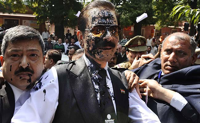 Sahara chief Subrata Roy sent to Tihar Jail