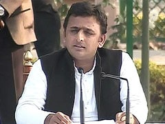 Man detained for protesting at Akhilesh Yadav's rally