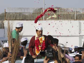Blog: On the road in Gujarat with Arvind Kejriwal