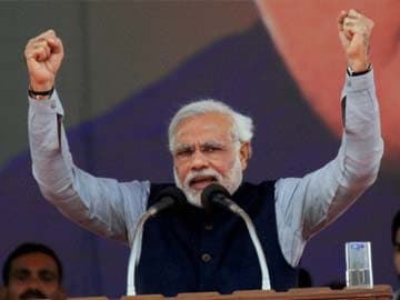 150 riots in UP in one year, none in Gujarat in last 10 years: Narendra Modi in Lucknow