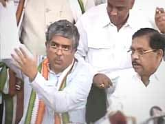 Nandan Nilekani formally joins Congress, to contest from Bangalore South