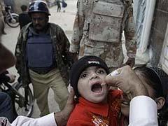 Three bomb blasts targeting Pakistan polio team kill 12