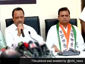 Shiv Sena leader Rahul Narvekar joins NCP
