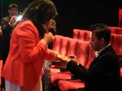Her movie date turned into a surprise wedding proposal