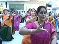 In Chennai, a flashmob of 50 breaks into Bharat Natyam