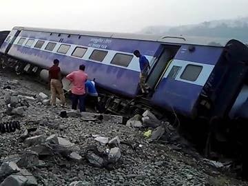 Nine coaches, engine of train derail in Assam; over 50 injured