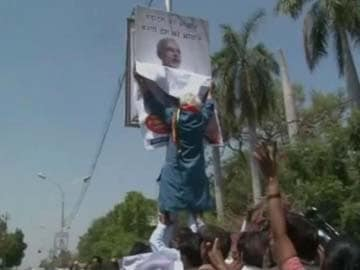 Narendra Modi's opponent, arrested for tearing his posters, gets bail
