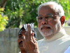 If Someone is Threatened With Knife an FIR is Registered, I Showed a Lotus: Narendra Modi