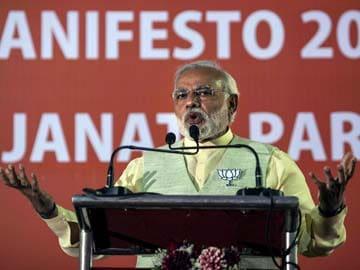 BJP's 'Modi-festo' headlines economy, downplays Ram Mandir