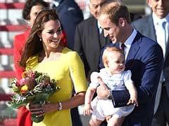 Prince William, Kate and baby George kick off Australia tour