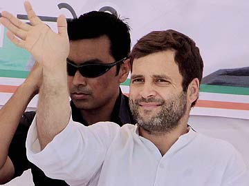 Only Congress can ensure development, says Rahul Gandhi
