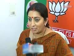 Smriti Irani accuses Priyanka Gandhi of indulging in poll gimmicks