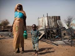 Ship brings US-donated food to help Sudan's displaced