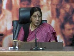 Sushma Swaraj cancels Madhya Pradesh rally after workers don't turn up