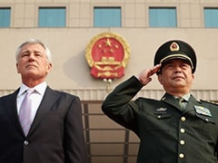 Defence chiefs of China and US air differences over disputed islands