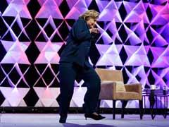 Woman throws shoe at Hillary Clinton in Las Vegas