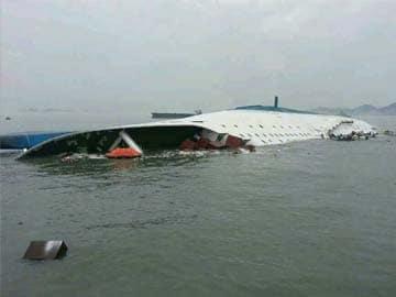 Two dead, 293 missing in South Korea ferry capsize