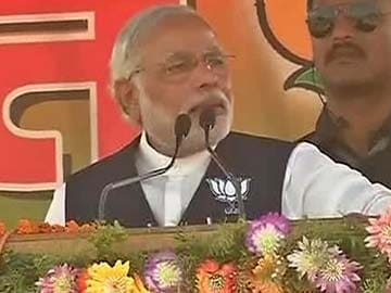 This is the first election where results are known before polling: Narendra Modi