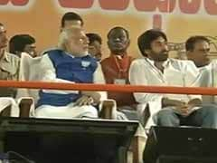 In Narendra Modi's speech, Pawan Kalyan is hero, no mention of Chandrababu Naidu