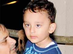 Sanjay Dutt's three year old son to make his acting debut?