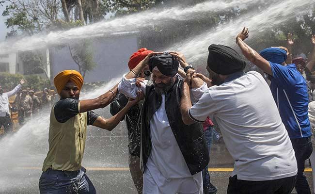 Large protests over Captain Amarinder Singh's remarks on Jagdish Tytler to  NDTV