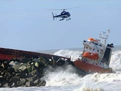 Two vessels collide, others grounded amid gusting winds off Virginia coast