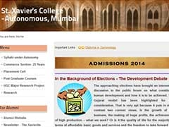 BJP takes on St Xavier's principal for email to students that critiques Gujarat