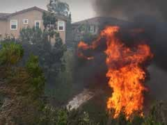 Wildfires Burn Homes as California Roasts