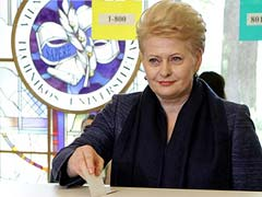 Lithuania's 'Iron Lady' Leads Presidential Polls