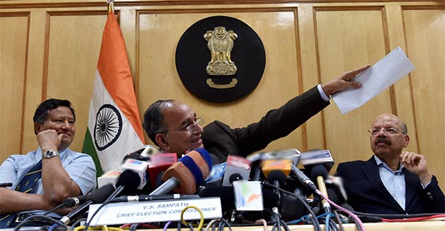 No Differences Among the Three Commissioners, Says Election Commission