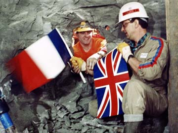 The Channel Tunnel The Building Site Of The Century