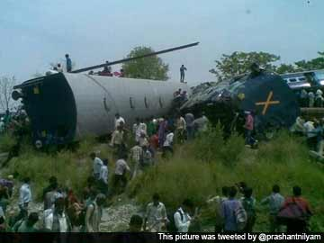 40 Killed as Gorakhdham Express Rams Goods Train in Uttar Pradesh