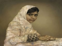Malala Portrait Fetches US $102,500 at Auction in New York