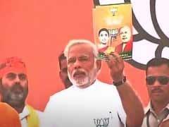 Want to Start Building India From Amethi, says Narendra Modi on Rahul Gandhi's Turf