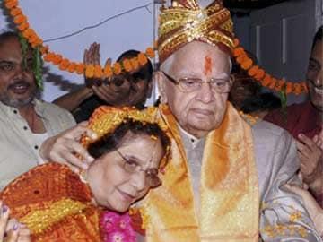 Just Married. At 88, ND Tiwari is a Bridegroom