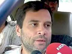 In Amethi Visit On Polling Day, Rahul Gandhi Rebuts Modi On 'Neech Rajniti' Row