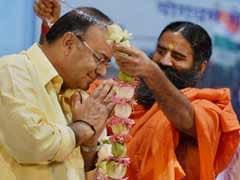Arun Jaitley Compares Ramdev to Mahatma Gandhi
