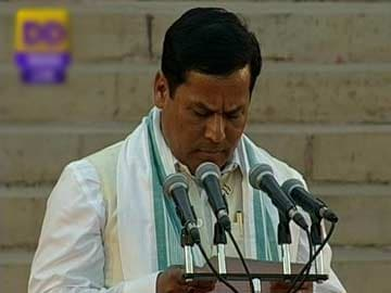 Minister of State (Independent Charge): Sarbananda Sonowal