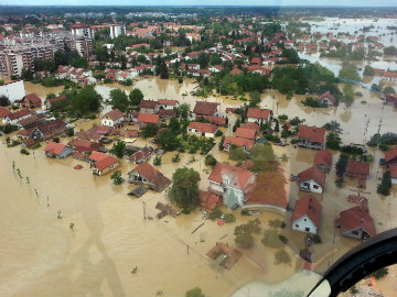 Immense Clean-Up in Balkans After Flood of the Century