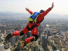 Base Jumping Daredevils Look to Urban Sites