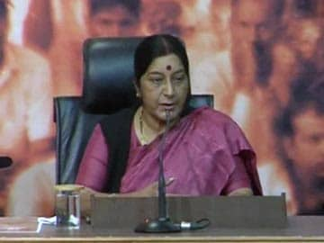 Sushma Swaraj Gets External Affairs Ministry, Thanks to Narendra Modi