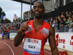 US Sprinter Tyson Gay Banned One Year for Doping