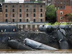 Tankers Carrying Oil Derail, Catch Fire in US
