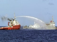 Vietnam, Chinese Ships Fire Water Cannons: Reports